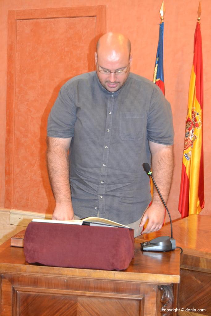 Juramento de los nuevos concejales de Dénia – Josep Crespo