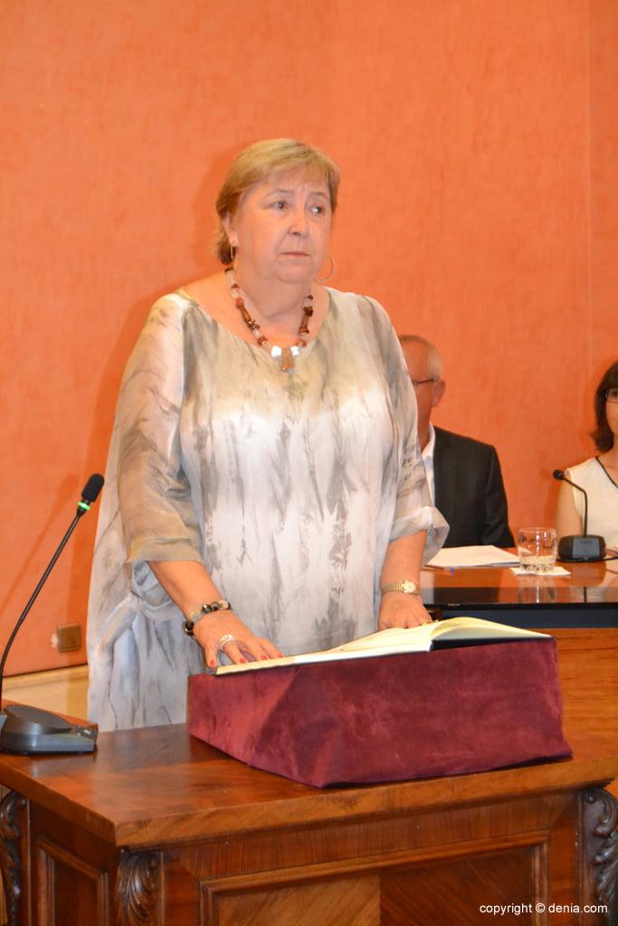 Juramento de los nuevos concejales de Dénia – Elisabet Cardona