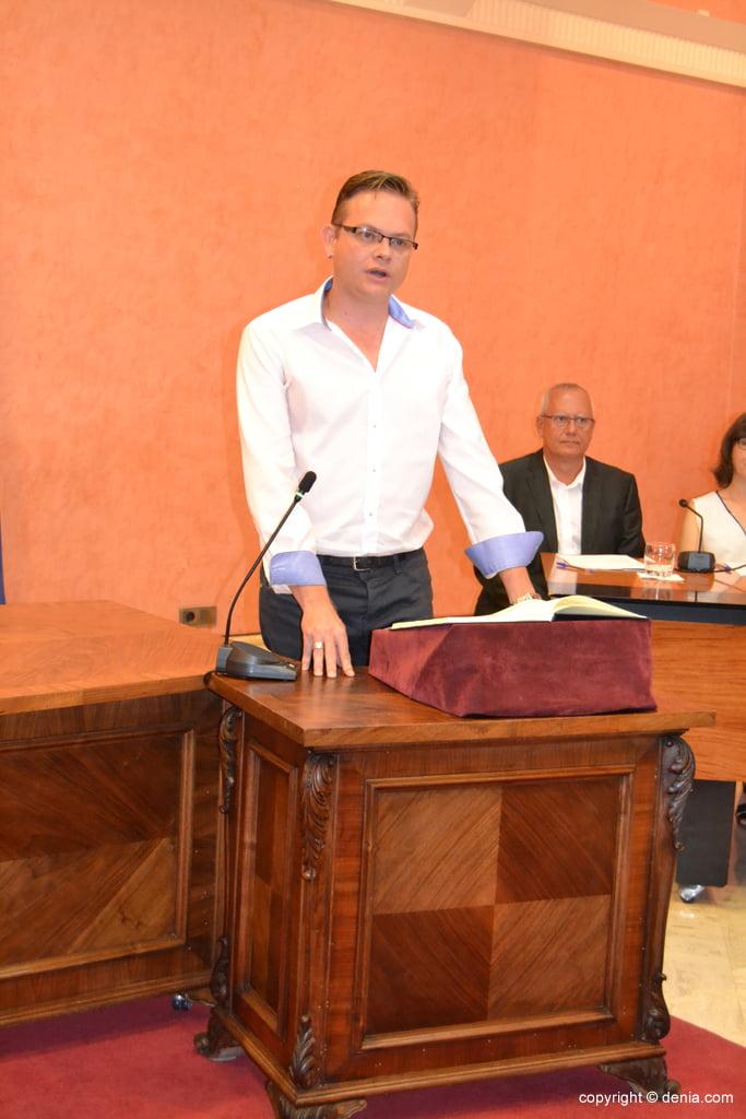 Juramento de los nuevos concejales de Dénia – Álex Rodenkirchen