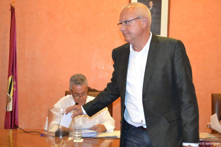 Votación de nuevo alcalde - Vicent Grimalt