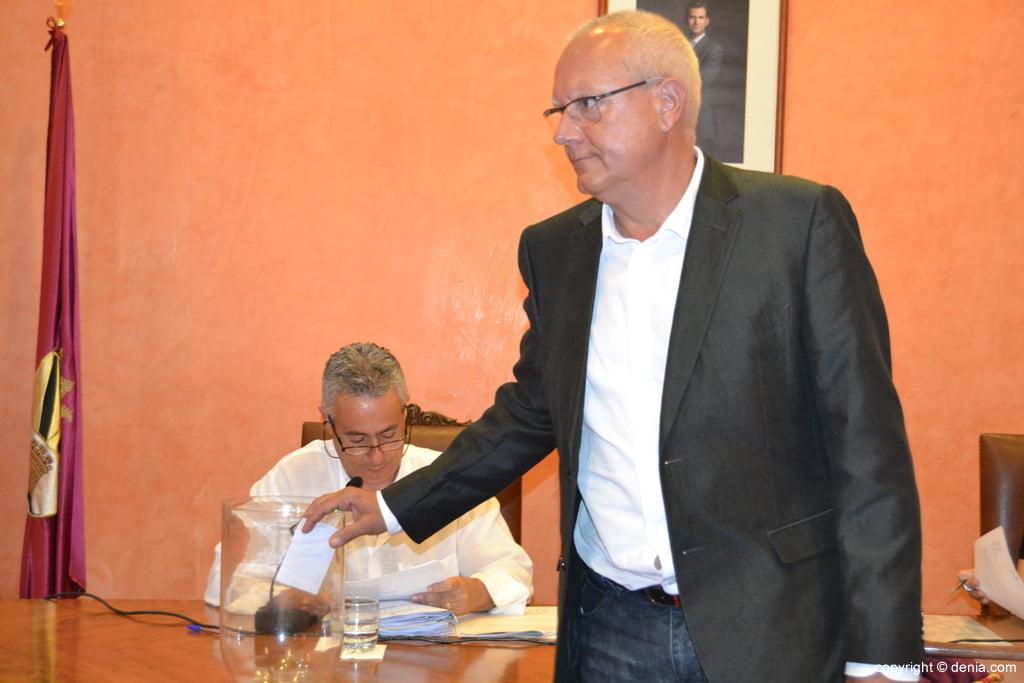 Votación de nuevo alcalde – Vicent Grimalt