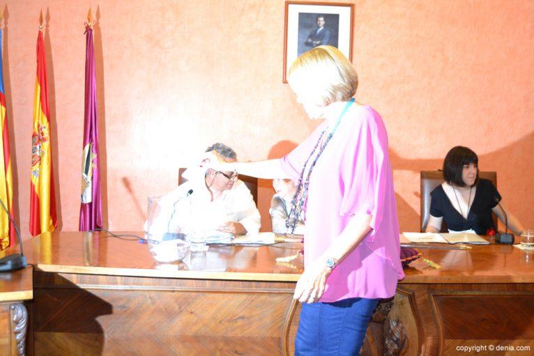 Votación de nuevo alcalde - Mari Martínez
