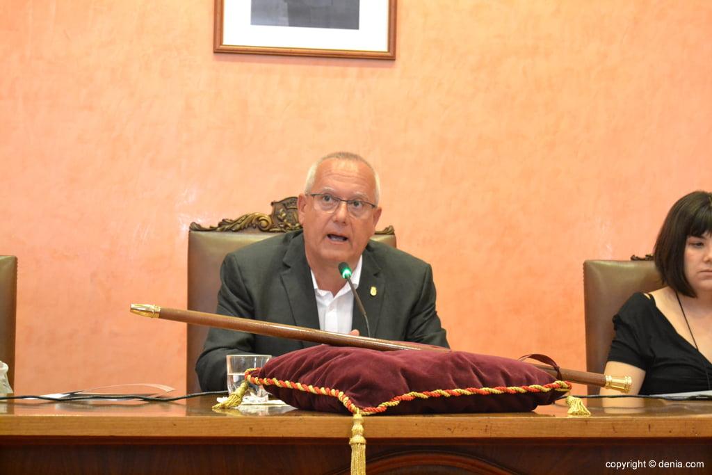 Primer discurso de Vicent Grimalt como alcalde
