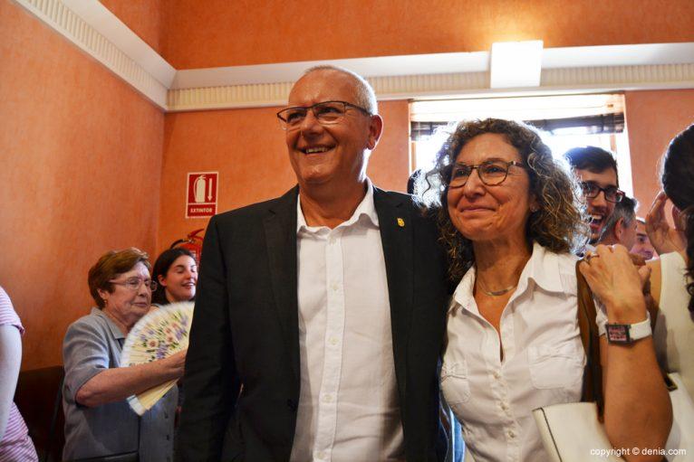 Vicent Grimalt y Paqui Viciano