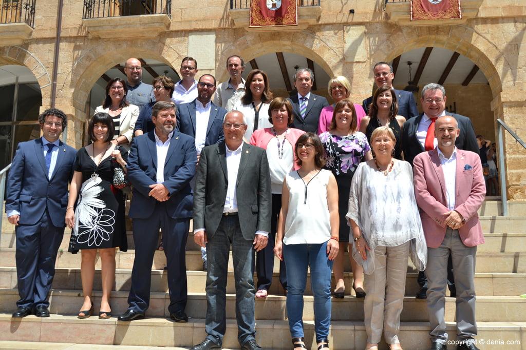 Nuevos concejales del Ayuntamiento de Dénia