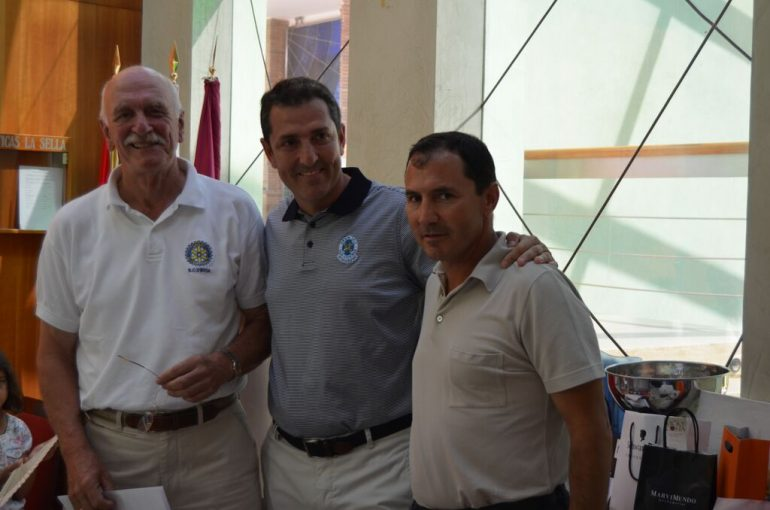 Chimo Torres vencedor del Torneo Benéfico del Club Rotary Dénia