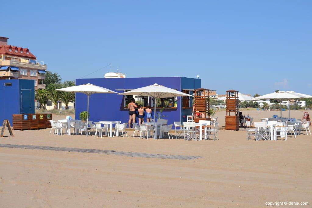 Chiringuito de la playa del Cagarritar