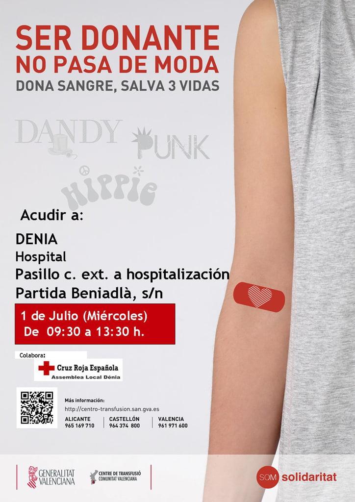 Donación de Sangre 1 julio Dénia