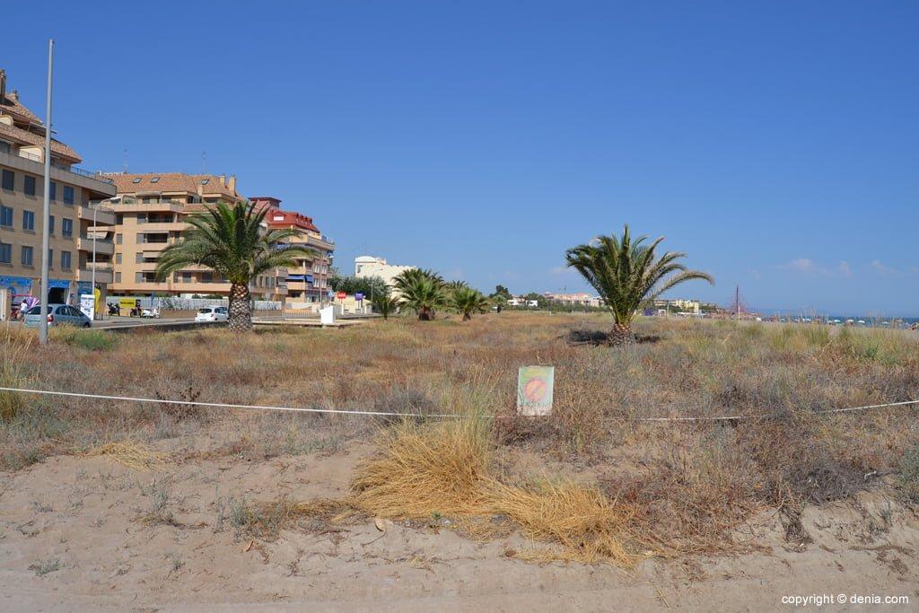 dune protette a Dénia
