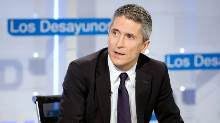 Фернандо Гранде Marlaska в RTVE.