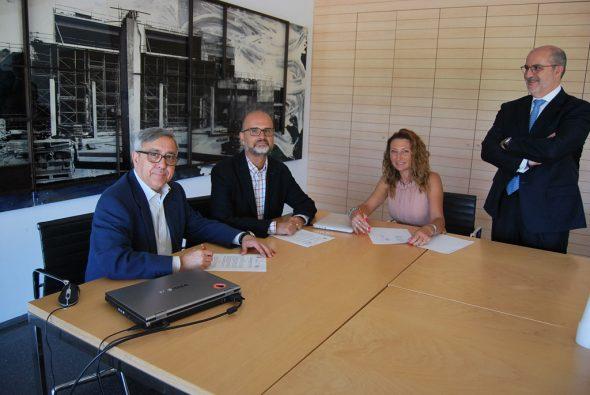 Firma del convenio Ciudad Universitaria