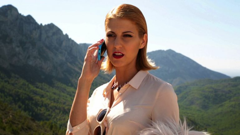 "Laura Martí actress of the webstore ""Wintensur"""