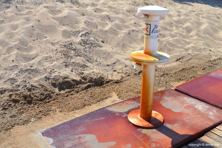Lavapiés en la playa del Cagarritar