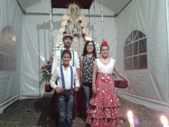Paris Pedrera lädt mit der Virgen del Rocio