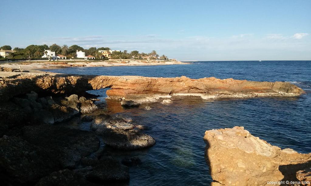 Playa de Les Rotes - Punta Negra