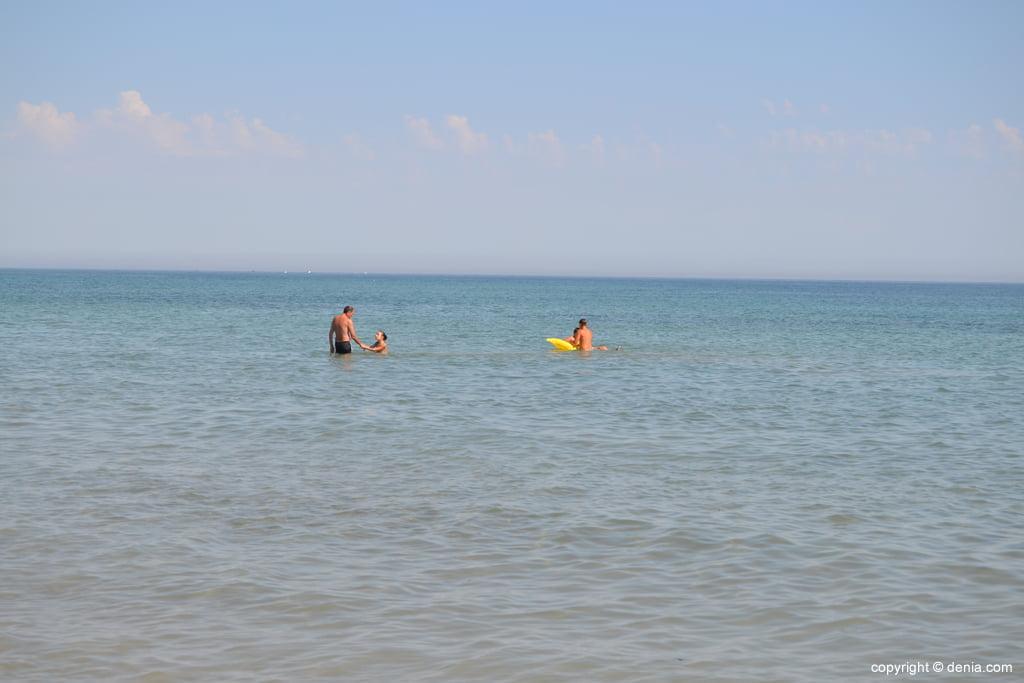 Spiaggia di Punta del Raset Denia