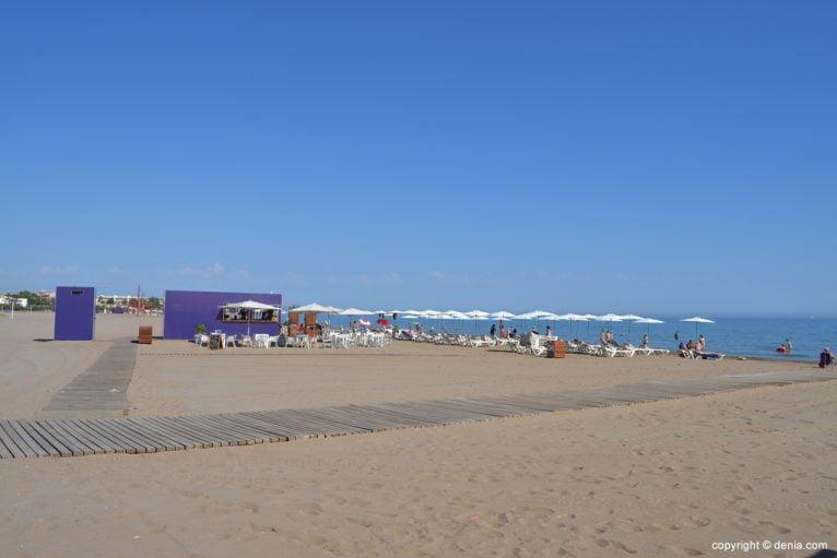 Playa del Cagarritar Dénia