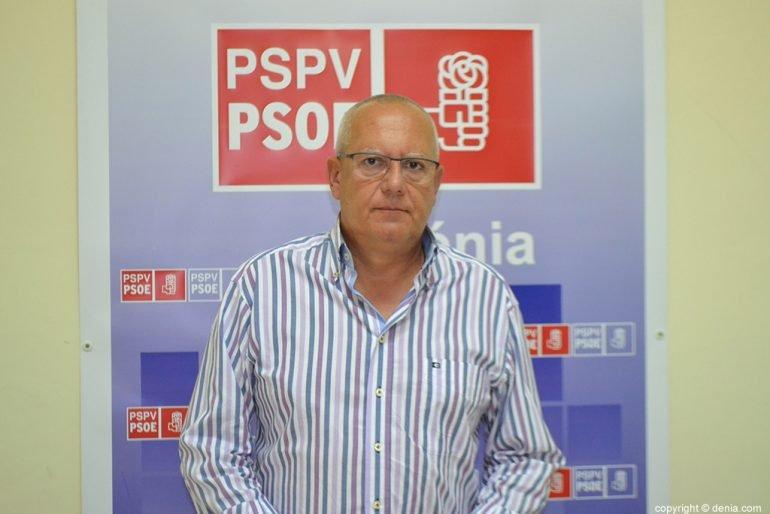 Vicente Grimalt candidat socialista a l'l'alcaldia de Dénia
