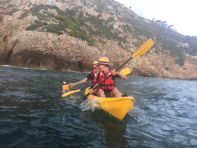 Excursiones kayak de mar Dénia - Aventura Pata Negra