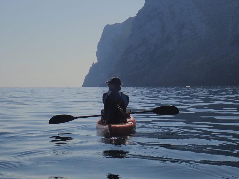 Excursiones kayak de mar en Dénia - Aventura Pata Negra