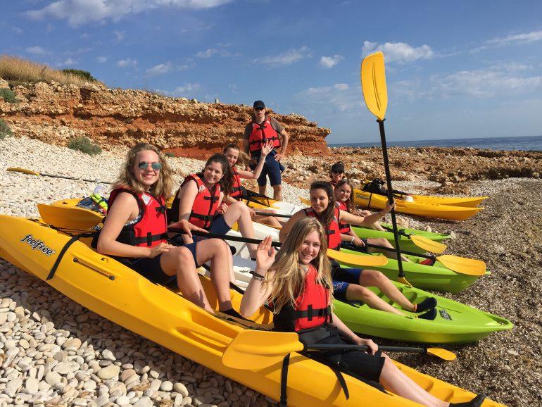 Excursiones kayak Dénia - Aventura Pata Negra