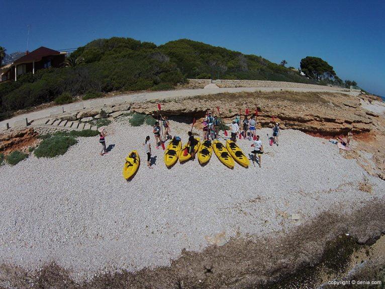 kayak-dénia-Aventura-Pata-Negra