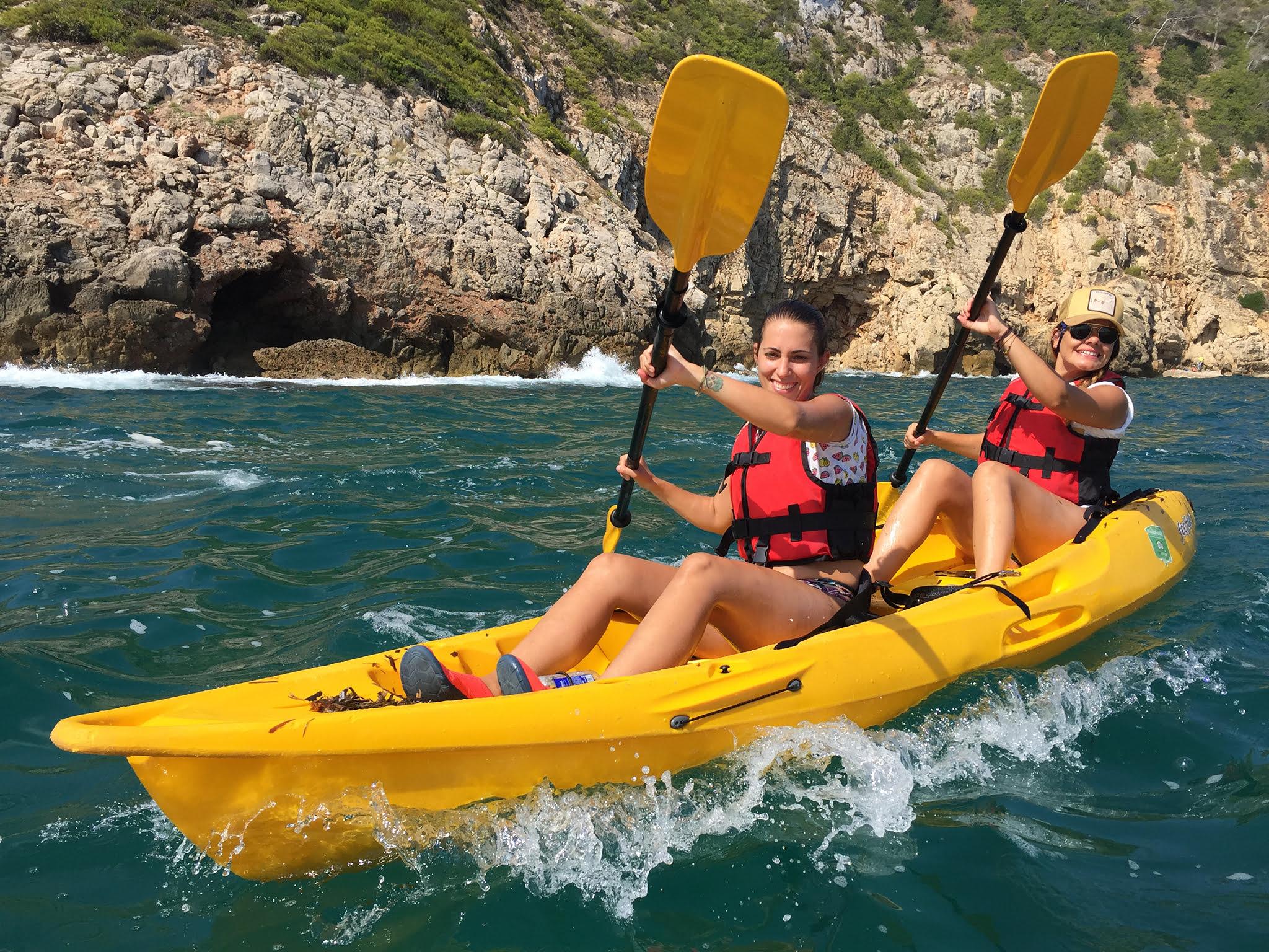 Kayak en Dénia – Aventura Pata Negra