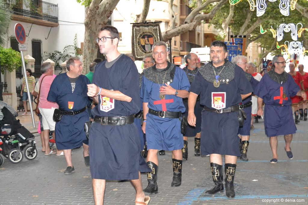 Desembarco moro Dénia 2014 – Desfile hasta la firma de la tregua