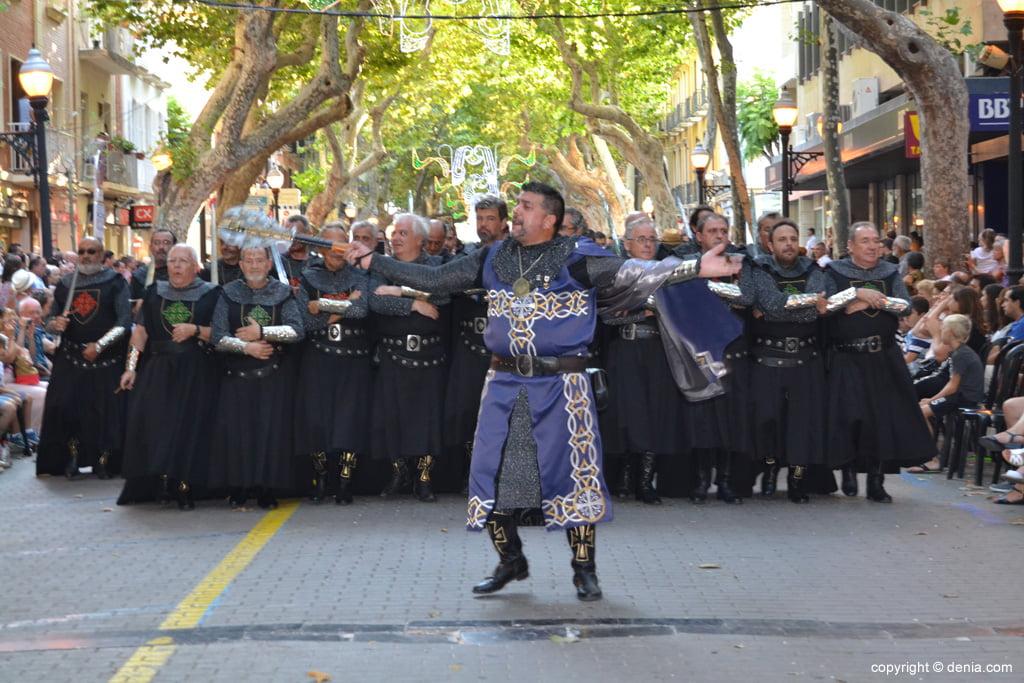 Desfile de gala Dénia 2014 – Filà Cavallers del Me'n Fot