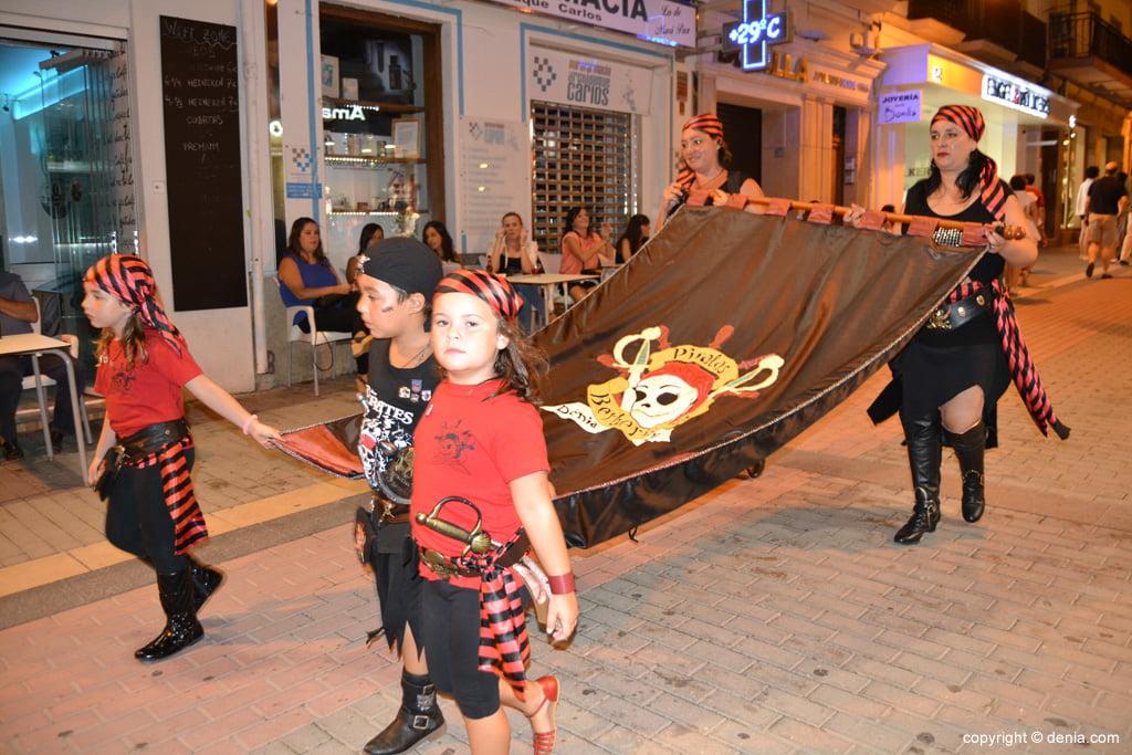 Retraite finale Maures et Chrétiens Dénia 2014 - Filà Piratas Berberiscas