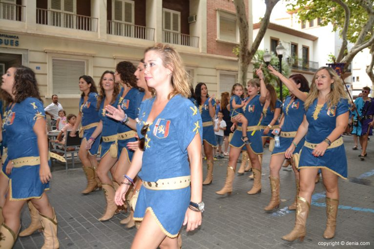 Dénia 2014 Moor landing - Parade to the truce signature