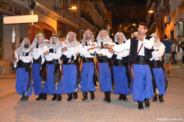 Retreta final Moros y Cristianos Dénia 2014 - Filà Berebers Tuaregs