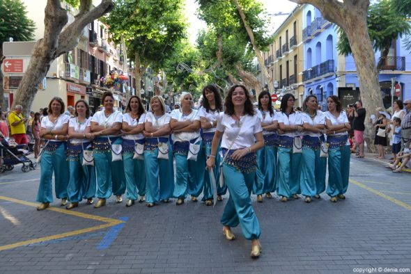 15 Parties Dénia - Entraeta of Moors and Christians - Amazigh