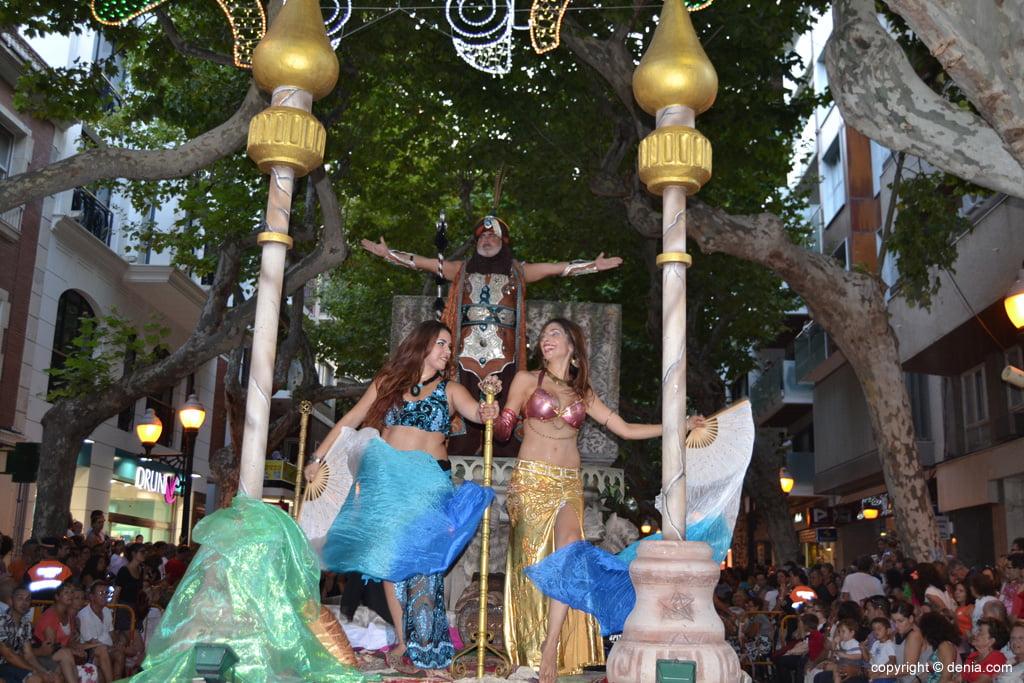 Desfile de gala – Capitanía Cristiana Marins Corsaris