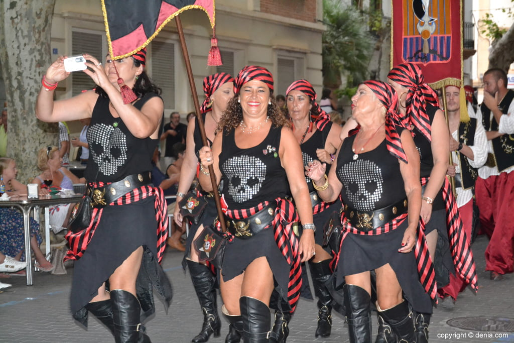 Débarquement maure Dénia 2014 - Parade jusqu'à la signature de la trêve