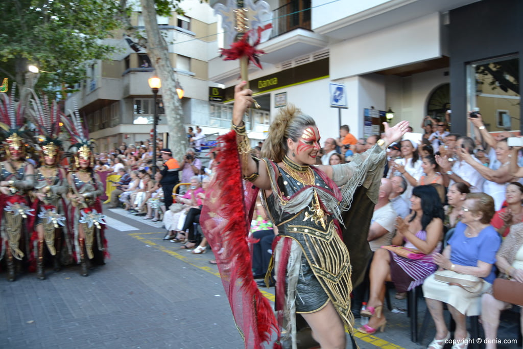 Dénia gala parade 2014 - Filà Almogàvers