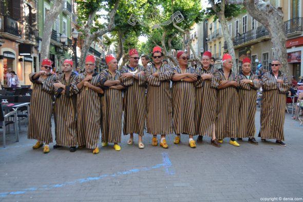 Dénia - partis Entraeta des Maures et des Chrétiens - Amiries