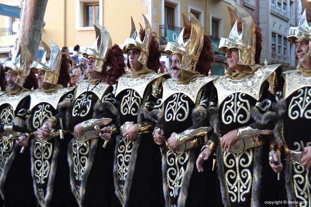 Dénia défilé de gala 2014 - fila Mozárabes