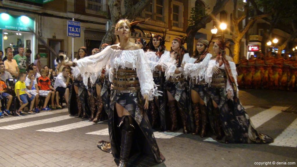 Défilé de gala de Dénia 2014 - Filà Piratas Berberiscas