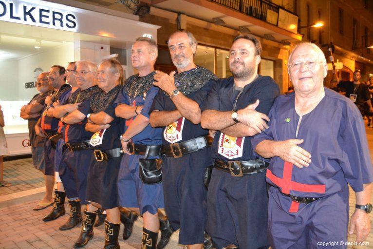 Retreta final Moros y Cristianos Dénia 2014 - Filà Cavallers