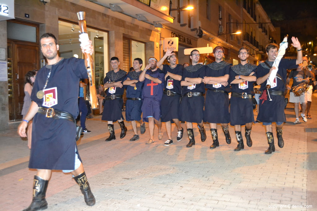 Retreta final Moros y Cristianos Dénia 2014 – Filà Cavallers