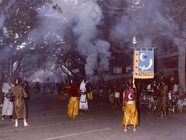 Imagen: Batalla de arcabucería en la calle Campos