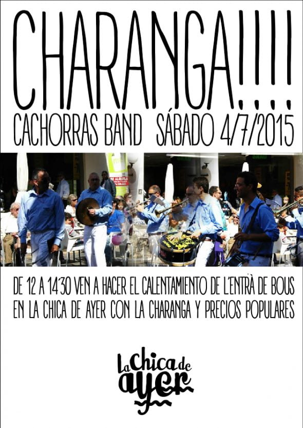 Cachorras Band in The Girl From Yesterday in Dénia parties