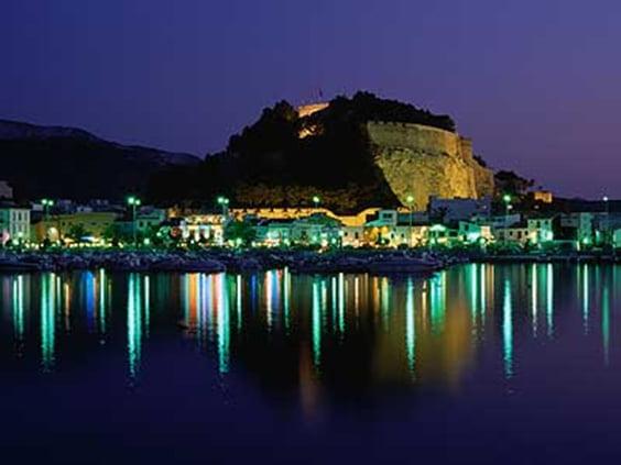 Castell de Dénia per la nit