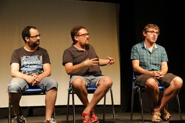 Charla-coloquio con el director Luis E Pérez