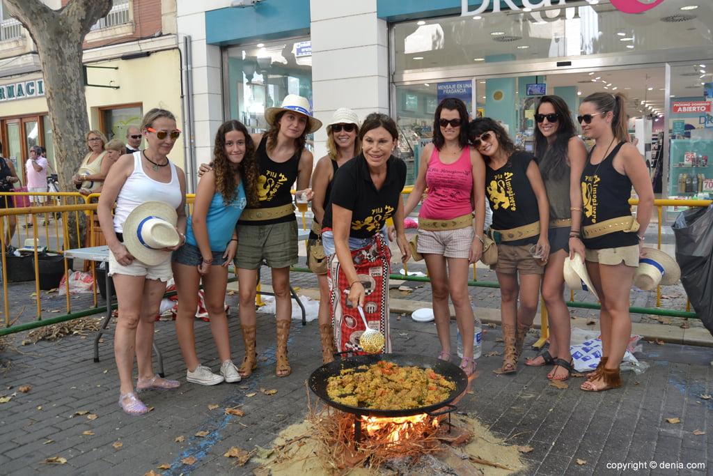 Paellas contest Sant Roc - Filà Almogàvers