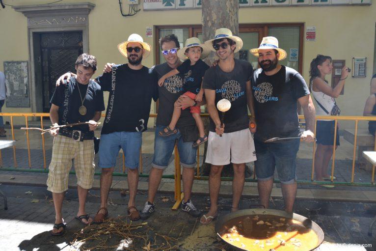 Concurso de paellas de Sant Roc - Filà Cavallers
