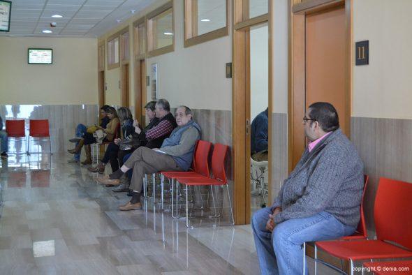 San Carlos Polyclinic waiting