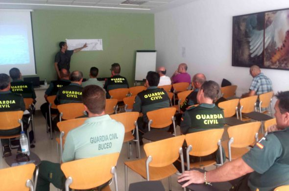 Civil Guard attended the Conference for the Protection of the Marine Reserve