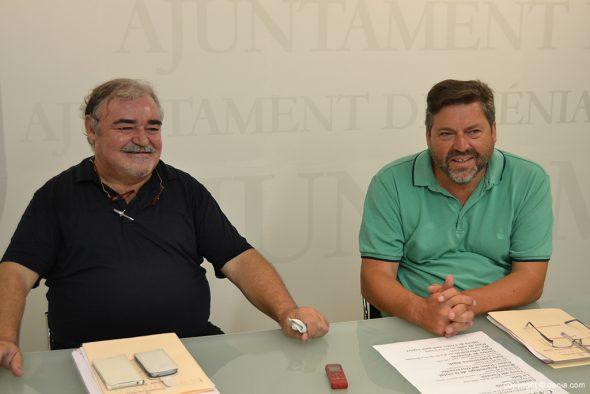 Josep Gisbert i Rafa Carrió presenten el programa arequeológico para el verano